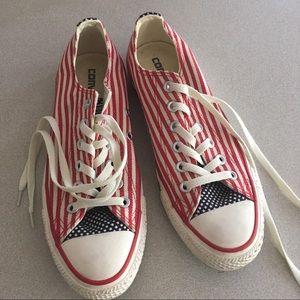 a62f445ea5 American Flag Shoes Converse on Poshmark